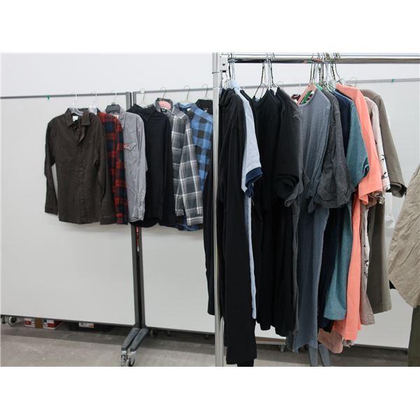 38pcs EXTRA CHARACTER MEN CLOTHING (LARGE)