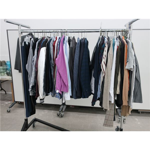 43pcs EXTRA CHARACTER MEN CLOTHING (X-LARGE)