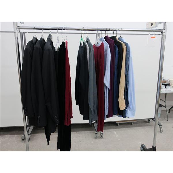 17pcs EXTRA CHARACTER MEN CLOTHING (2X-LARGE)