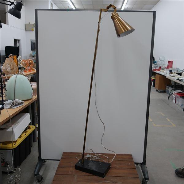 "FLOOR LAMP 61"" H."