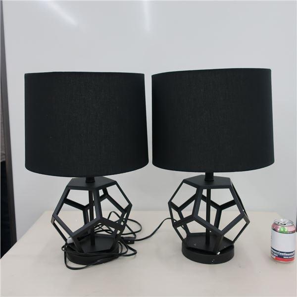 """LOT: STRUCTUBE """"LEA"""" TABLE LAMPS 54CM"""