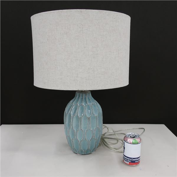 "TABLE LAMP 23"" X 15"" DIA."