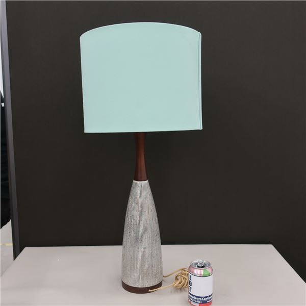 "TABLE LAMP 29"" X 12"" DIA."