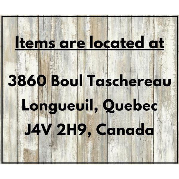 Items location