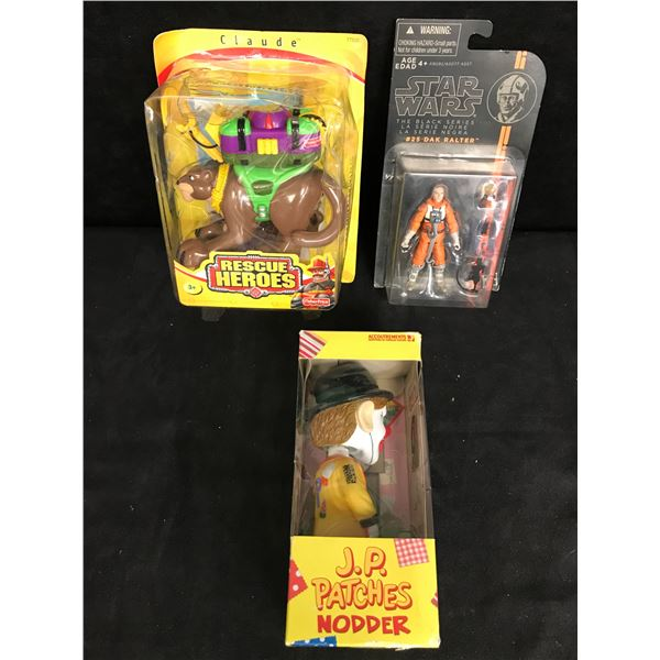 ASSORTED TOY FIGURES LOT