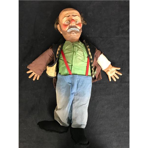 VINTAGE EMMETT KELLY'S WILLIE THE CLOWN Baby Barry Hobo Doll