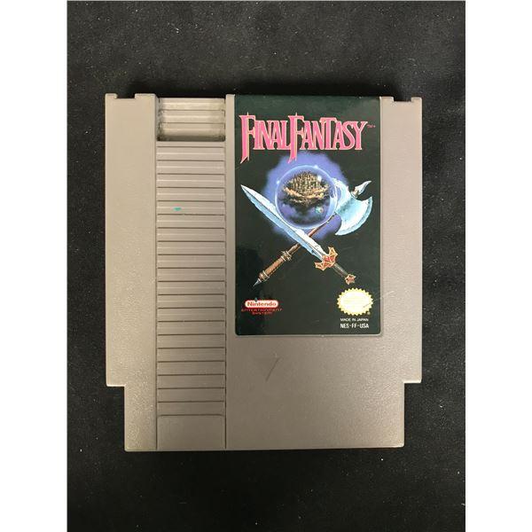 FINAL FANTASY NINTENDO VIDEO GAME