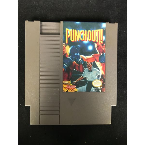 PUNCH-OUT!! NINTENDO VIDEO GAME