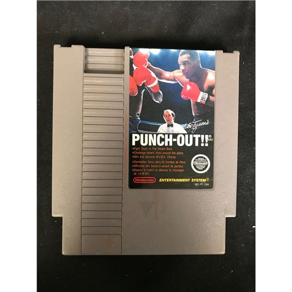 MIKE TYSON'S PUNCH-OUT!! NINTENDO VIDEO GAME