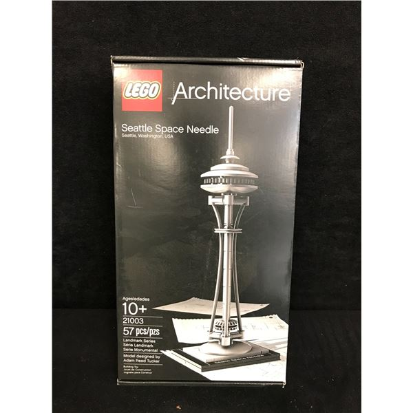 """LEGO: ARCHITECTURE """"SEATTLE SPACE NEEDLE"""" BUILDING TOY"""