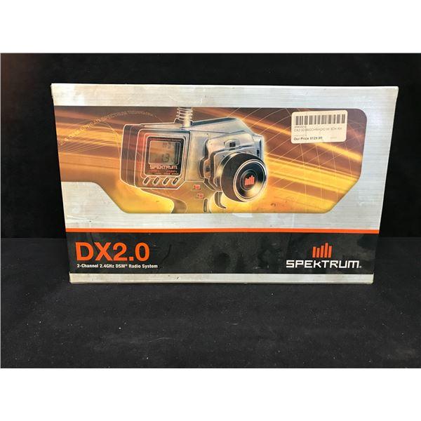 SPEKTRUM DX2.0 2-CHANNEL 2.4GHz DSM RADIO SYSTEM