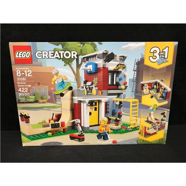 "LEGO: CREATOR ""MODULAR SKATE HOUSE"" BUILDING TOY"
