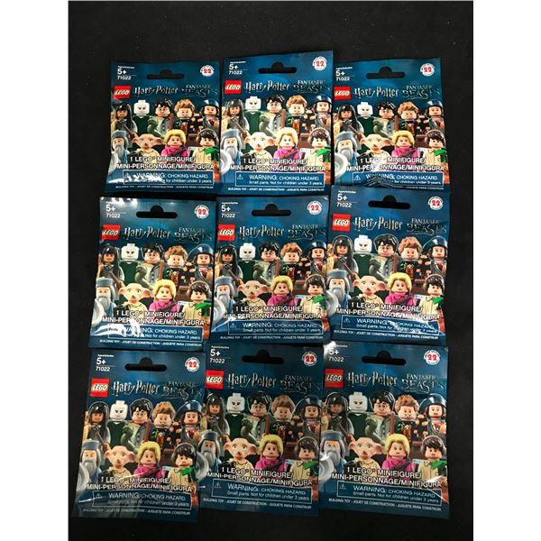 LEGO MINIFIGURES HARRY POTTER FANTASTIC BEASTS (71022) x9