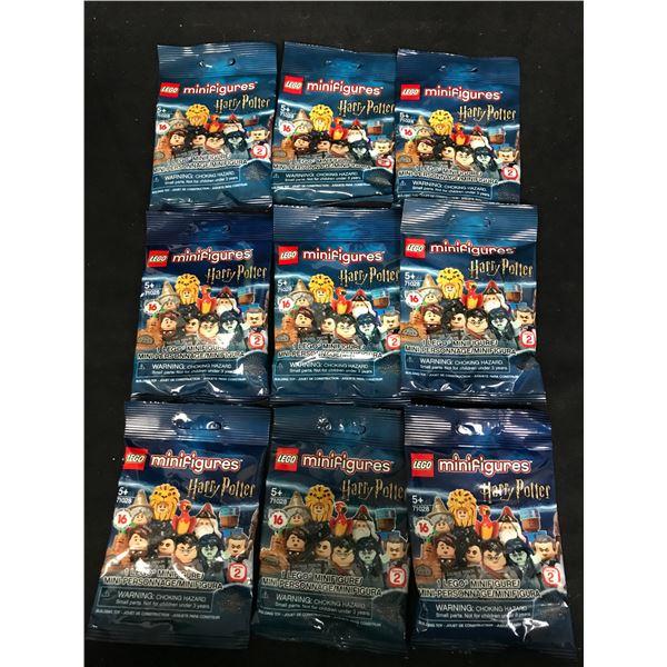 LEGO MINIFIGURES HARRY POTTER FANTASTIC BEASTS (71028) x9