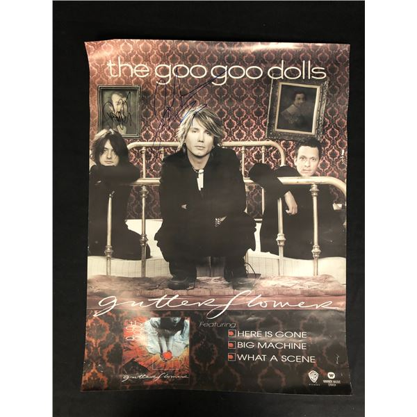 THE GOO GOO DOLLS BAND SIGNED POSTER