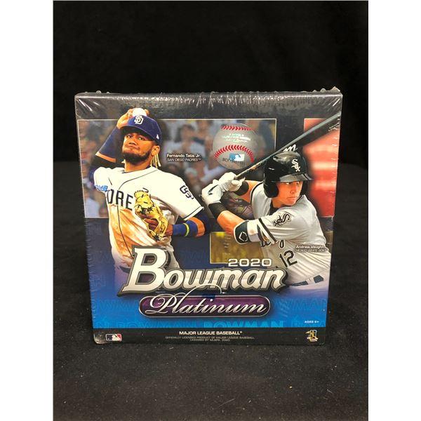 2020 BOWMAN PLATINUM WALMART MEGA BOX (FACTORY SEALED)