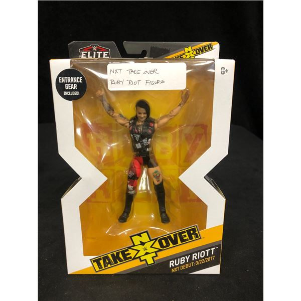 """WWE NXT TAKEOVER """"RUBY RIOTT"""" ACTION FIGURE"""