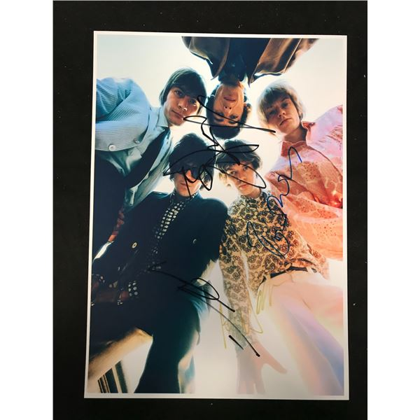 THE ROLLING STONES BAND SIGNED PHOTO (REAL AUTHENTIC COA)