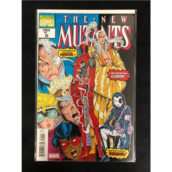 THE NEW MUTANTS #98 (MARVEL COMICS) Reprint