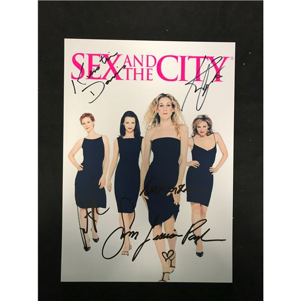 SEX AND THE CITY SIGNED PHOTO (REAL AUTHENTIC COA)