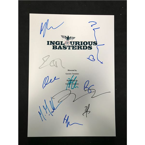 INGLORIOUS BASTERDS SIGNED SCRIPT COVER (REAL AUTHENTIC COA)
