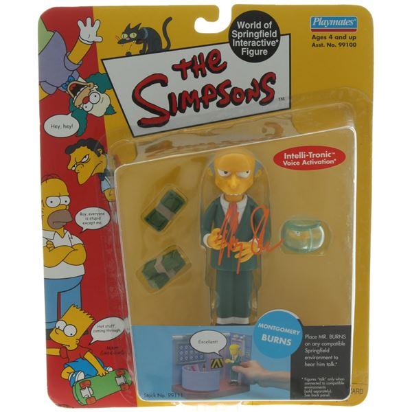 "HARRY SHEARER SIGNED ""THE SIMPSONS"" MR. BURNS FIGURINE (BECKETT COA)"