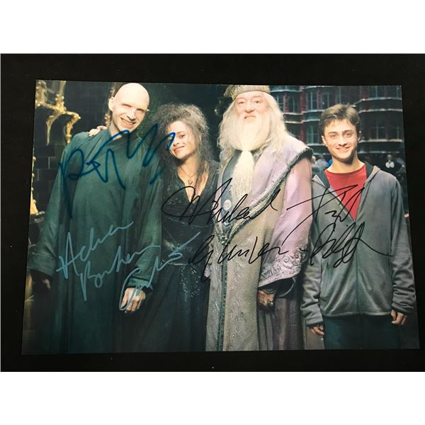 HARRY POTTER SIGNED PHOTO (REAL AUTHENTIC COA)