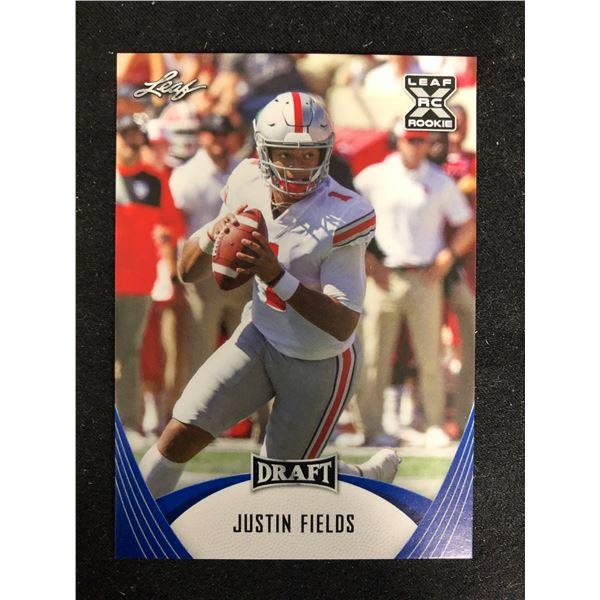2021 Leaf Draft Justin Fields Rookie RC #2 Ohio State Buckeyes