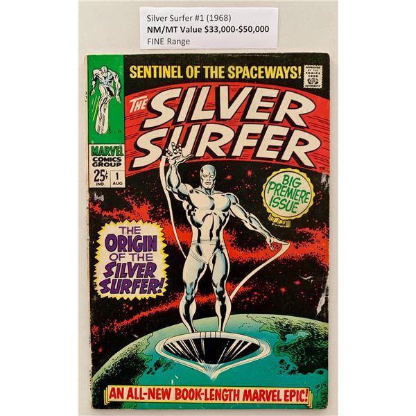 SILVER SURFER #1 (MARVEL COMICS) 1968