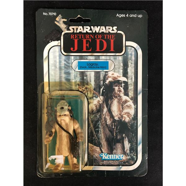 """STAR WARS: RETURN OF THE JEDI """"LOGRAY"""" ACTION FIGURE"""