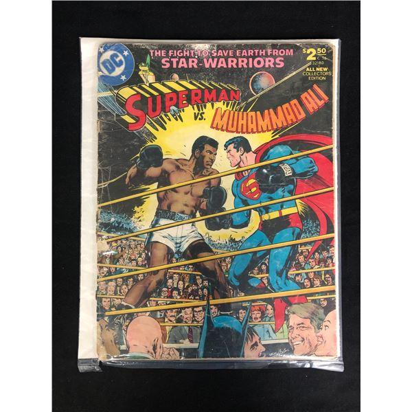 SUPERMAN VS MUHAMMAD ALI ICONIC TREASURE ISSUE