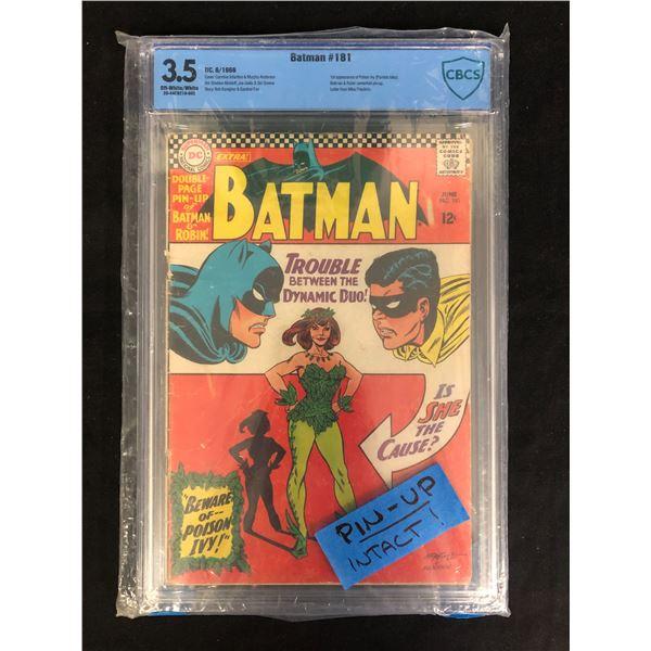 BATMAN #181 (CBCS 3.5) DC COMICS