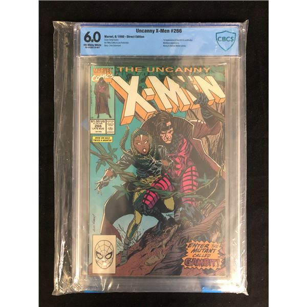 THE UNCANNY X-MEN #266 (CBCS 6.0) MARVEL COMICS