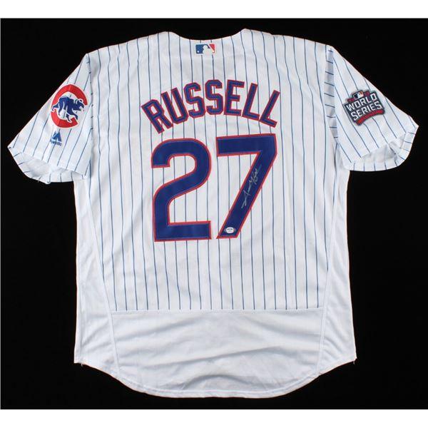 ADDISON RUSSELL SIGNED PRO STYLE JERSEY (PSA COA)