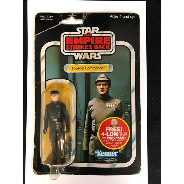 """STAR WARS: RETURN OF THE JEDI """"IMPERIAL COMMADER"""" ACTION FIGURE"""