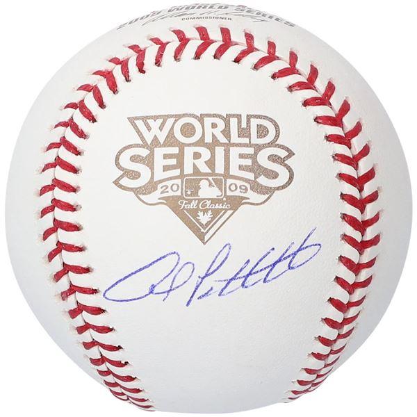 Andy Pettitte New York Yankees Autographed 2009 World Series Baseball (MLB HOLO)