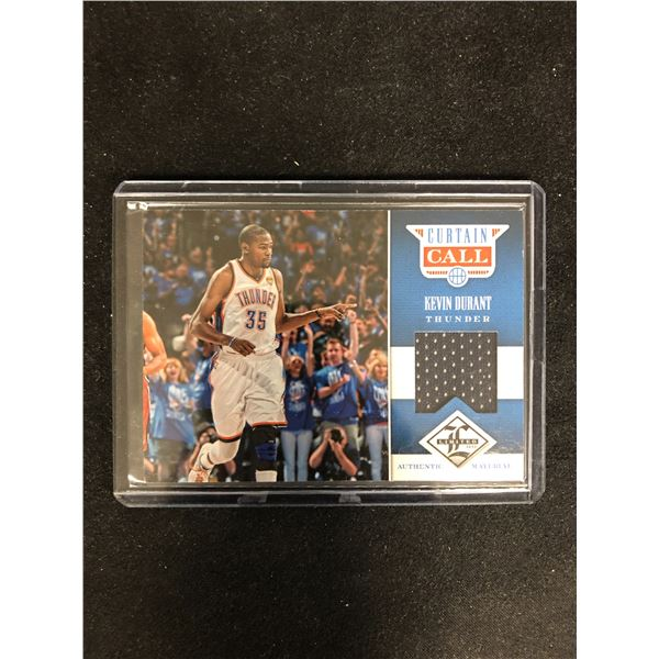 2012-13 Limited Curtain Call Materials /199 Kevin Durant #18