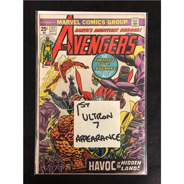THE AVENGERS #127 (MARVEL COMICS) 1st Ultron Appearance