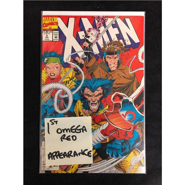 X-MEN #4 (MARVEL COMICS) 1st Omega Red