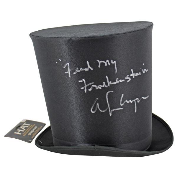 "Alice Cooper ""Feed My Frankenstein"" Signed Costume Top Hat (Beckett Witnessed)"