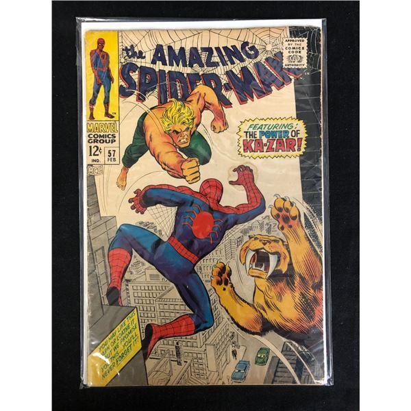 THE AMAZING SPIDER-MAN #57 (MARVEL COMICS)