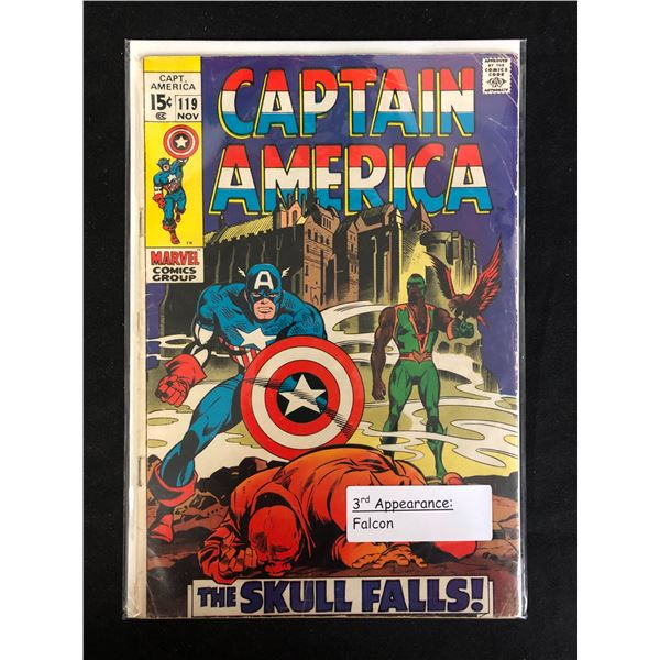 CAPTAIN AMERICA #119 (MARVEL COMICS)