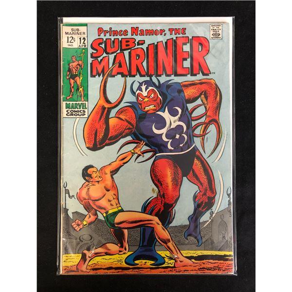 SUB-MARINER #12 (MARVEL COMICS)