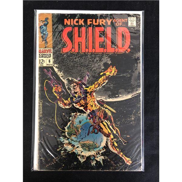 NICK FURY, AGENT OF S.H.E.I.L.D. #6 (MARVEL COMICS)