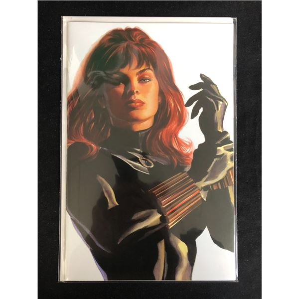 BLACK WIDOW #2 VIRGIN VARIANT COVER by Alex Ross