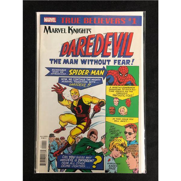 TRUE BELIEVERS MARVEL KNIGHTS DAREDEVIL #1 (MARVEL COMICS)