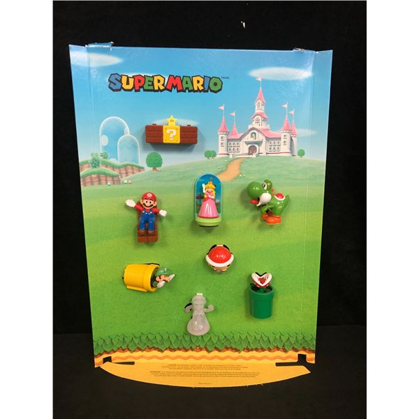 Nintendo Super Mario Brothers McDonalds Happy Meal Toy Store Display