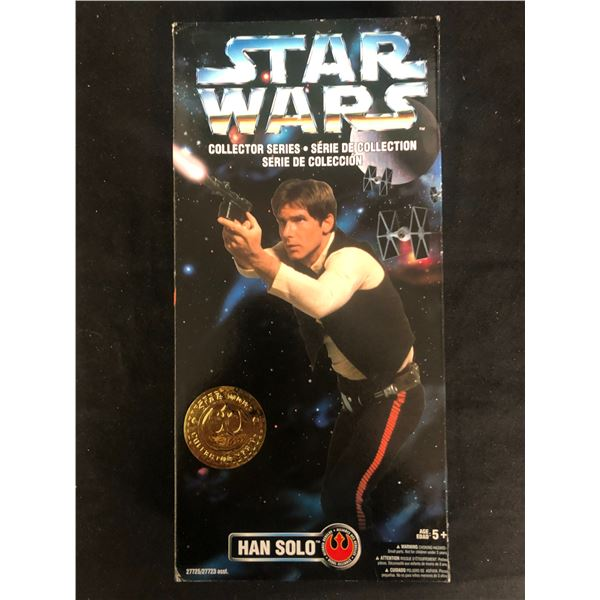 STAR WARS HANS SOLO COLLECTOR SERIES ACTION FIGURE