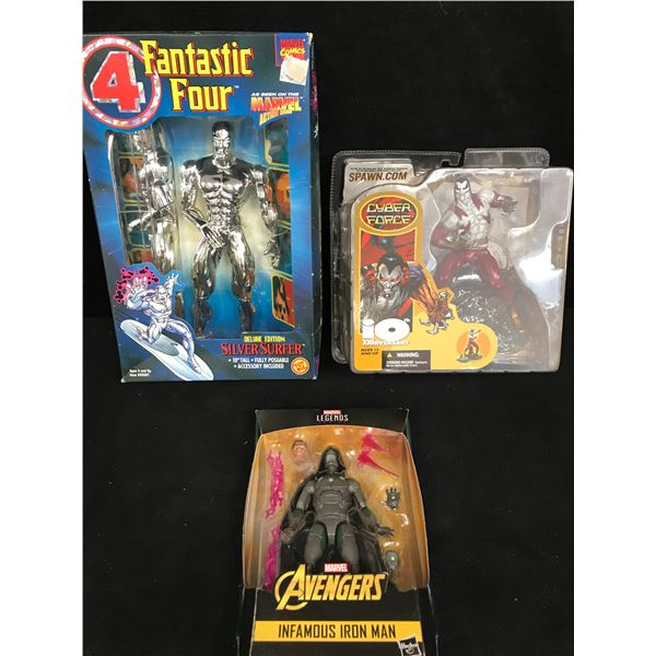 ASSORTED ACTION FIGURE LOT