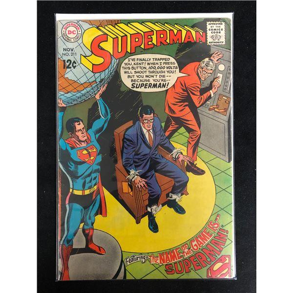 SUPERMAN #211 (DC COMICS)